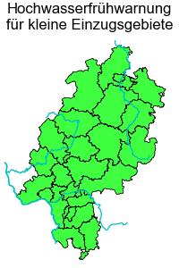 Hochwasserfrühwarnung für kleine Einzugsgebiete
